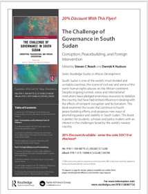 New Book on South Sudan (Contributor)