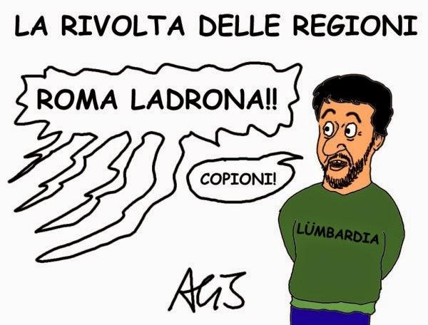 Salvini, regioni, legge stabilità