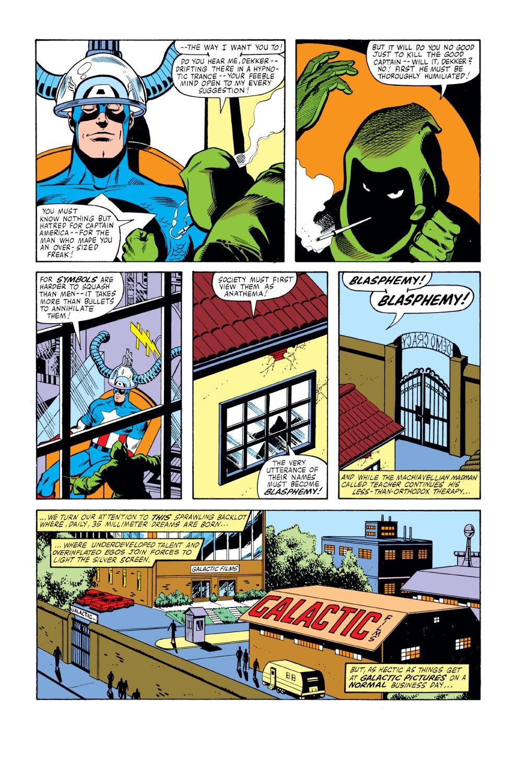 Captain America (1968) Issue #261 #176 - English 16