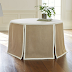 An Affordable Paneled Round Tablecloth