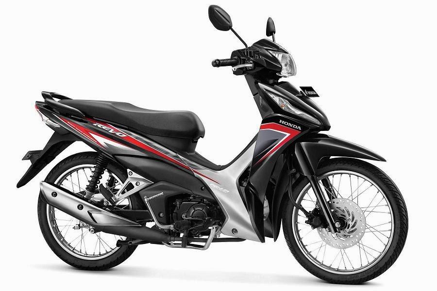 Warna Honda Revo SW PGM-FI hitam