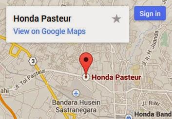 Dealer Honda Pasteur Bandung