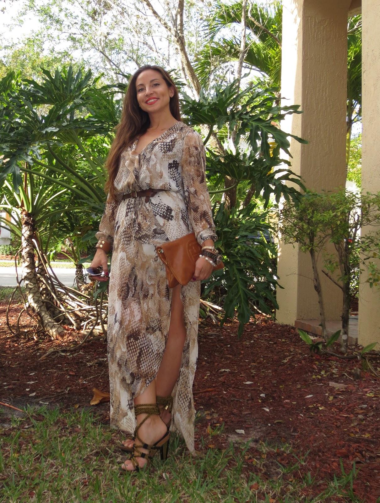 Express maxi dress fashion star