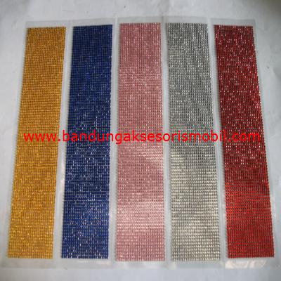 Berlian Lembaran Kecil 5 Warna
