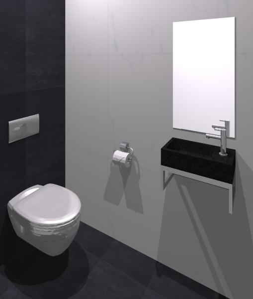 Badkamer zwart wit grijs badkamer tegels hout badkamers voorbeelden mooie badkamer met - Badkamer zwart en hout ...
