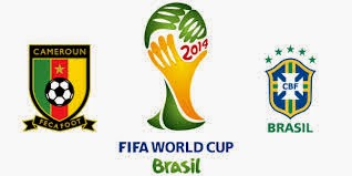 Cameroon vs.Brazil live 2014 FIFA WORLD