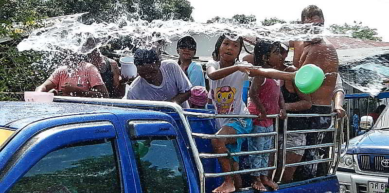 Songkran Festival, a Thai occasion nobody should miss.