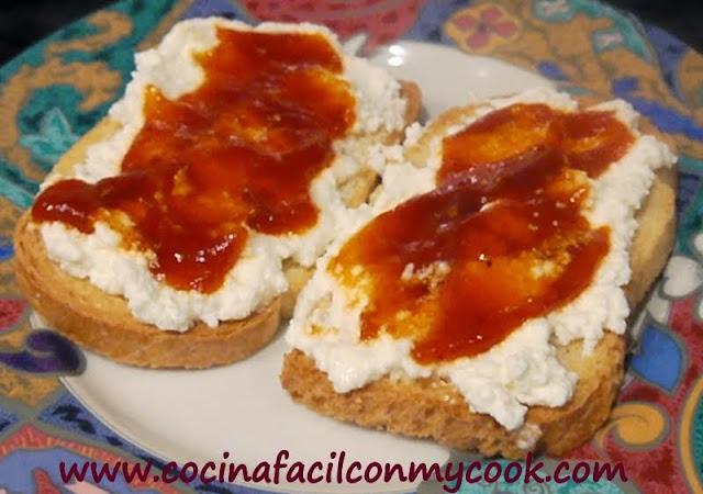 Mis recetas mycook mermelada de pimientos rojos - Mermelada de pimientos rojos ...