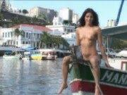 Carol Castro em Making of para Playboy