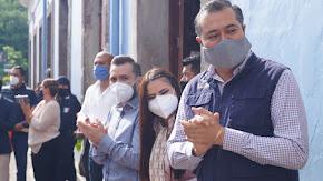 COATEPEC TRABAJA CADA DÍA PARA CONTAR CON UNA POLICÍA MODERNA Y EQUIPADA: ENRIQUE FERNÁNDEZ