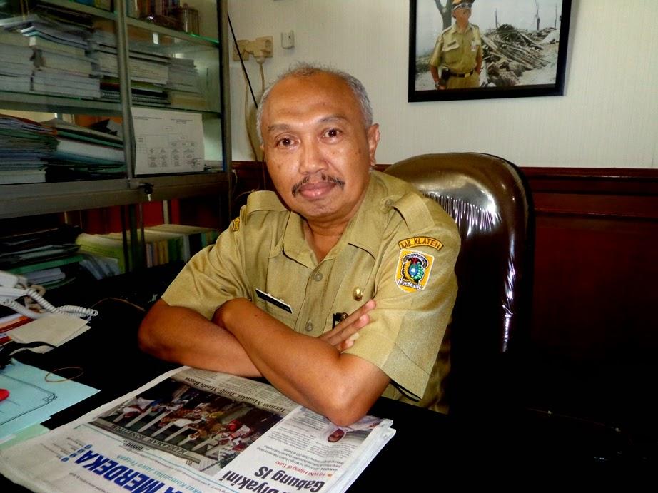 Kepala Badan Perencanaan Daerah (Bapeda) Klaten