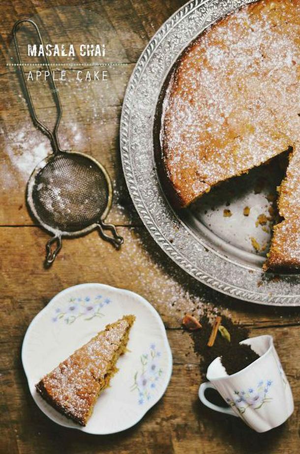 Masala Chai Apple Cake
