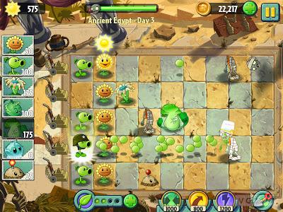 Tampilan2 Plants vs Zombies 2