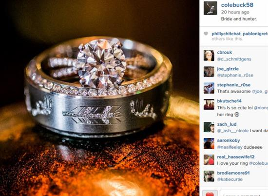 Mens Hunting Wedding Rings 46 Inspirational These rings are everything