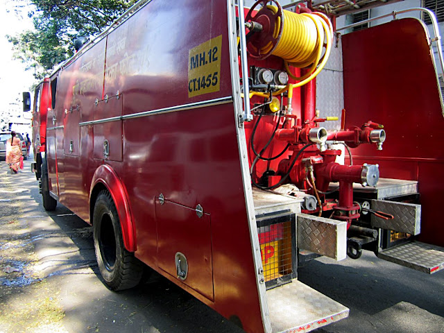 fire truck with equipment