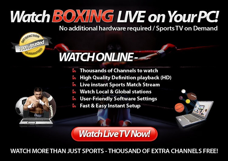 Watch Boxing Live Online Tv Home