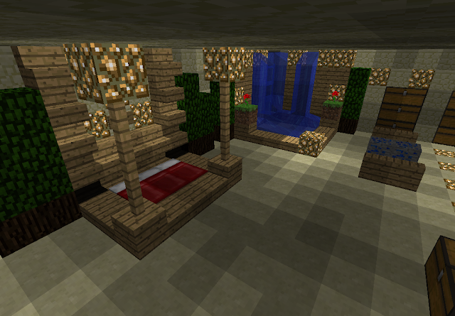 Minecraft bedroom ideas interior designs room for Minecraft lounge ideas