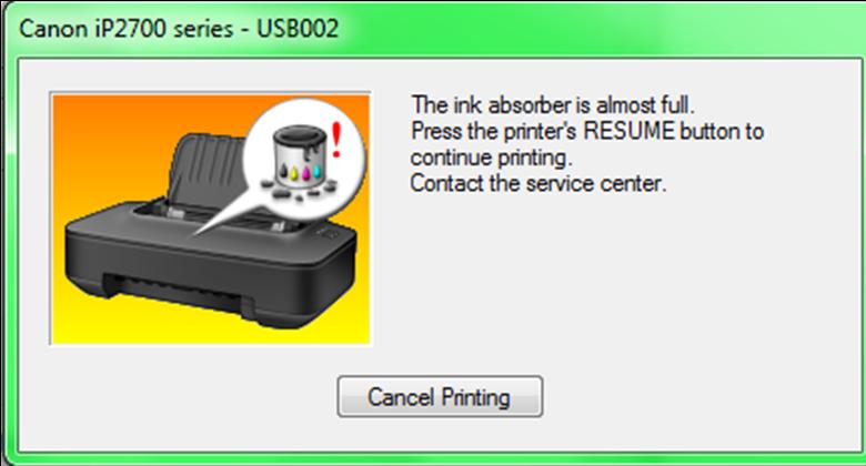 Langkah Memperbaiki Printer Inkjet Canon iP2770 | pixelindo