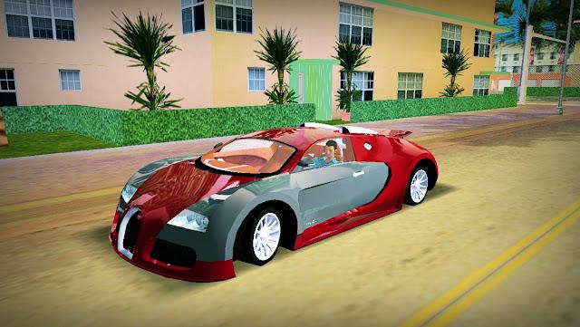 Bugatti EB 164 Veyron Concept 2004 GTA Vice City