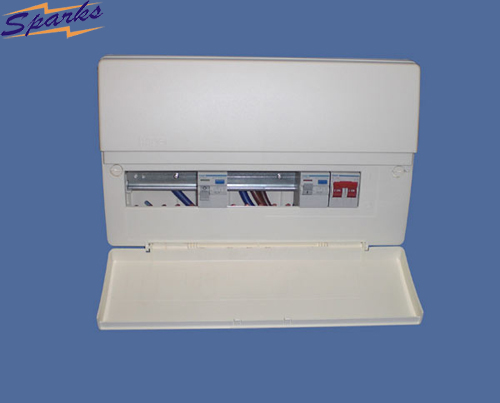 Hager VC712C1 12 Way Consumer Unit 100A Main Switch
