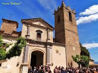 """L'església de Sant Andreu de Gurb. Autor:Francesc """"Caminaire"""""""