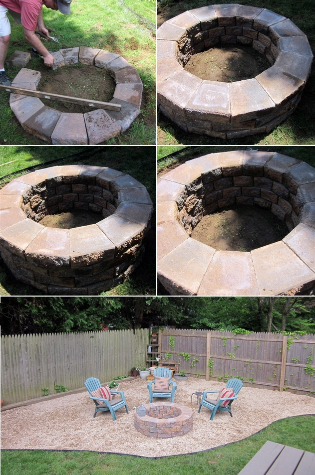 Easy DIY Fire Pit Ideas
