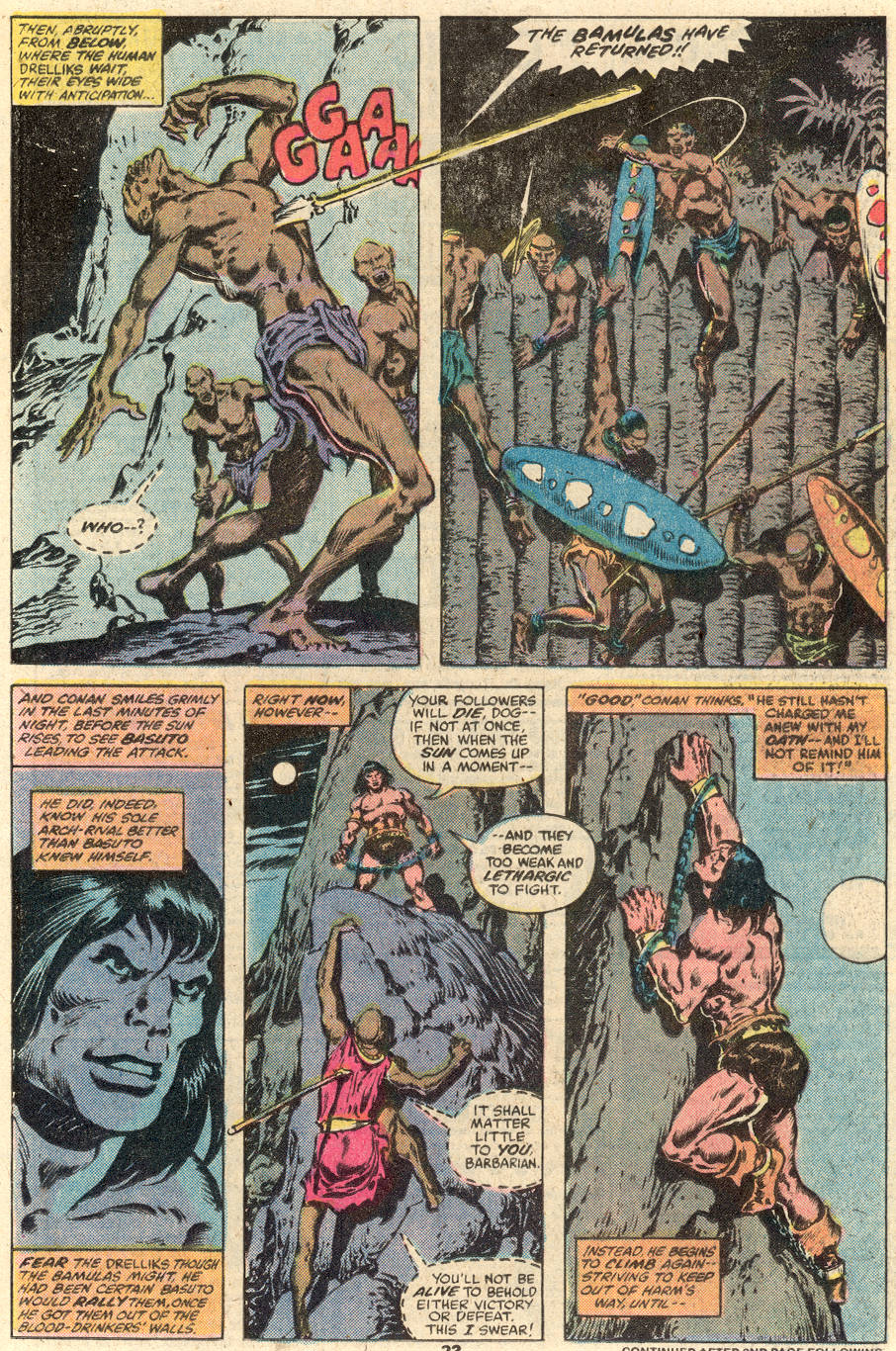 Conan the Barbarian (1970) Issue #103 #115 - English 14