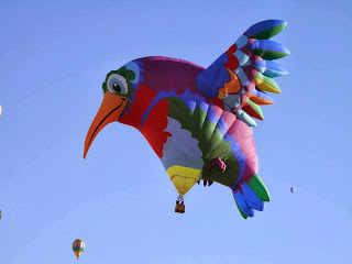 The Hummingbird Balloon