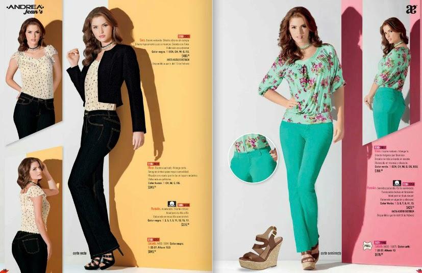 Catalogo andrea primavera 2015 ropa de moda catalogos - Q esta de moda en ropa ...
