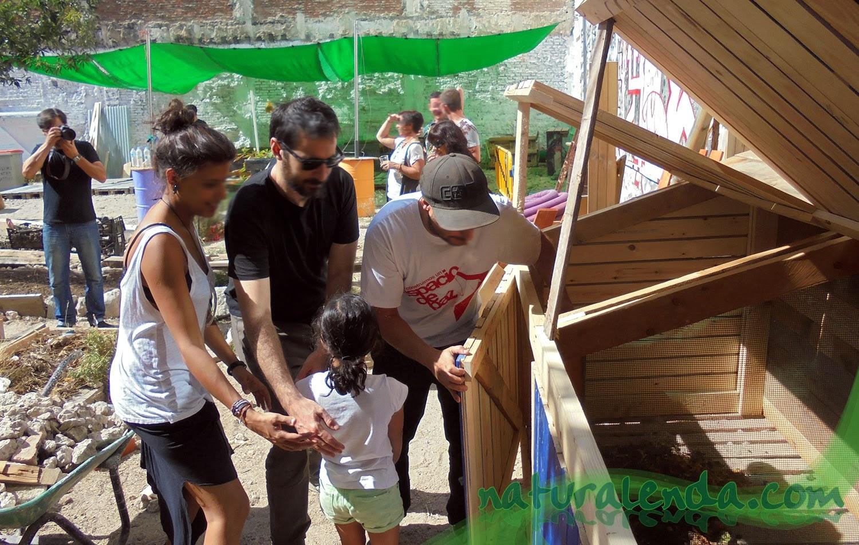 Inauguracion del compostador
