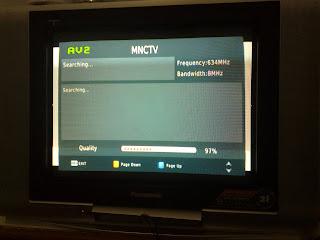 Ujicoba siaran digital PT GTV Dua ( GlobalTV ) 20130328