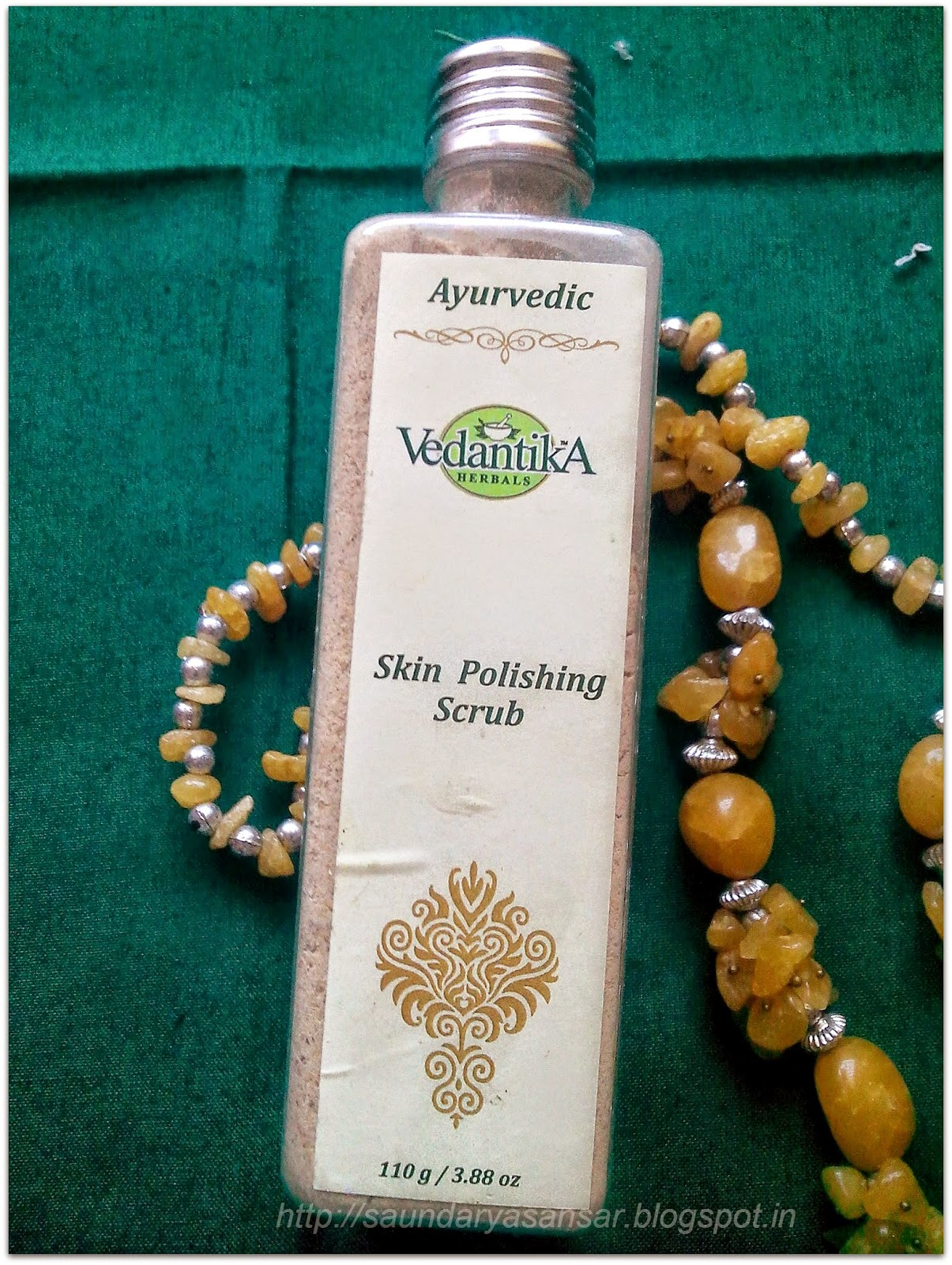 Vedantika herbals skin polishing scrub (Review)