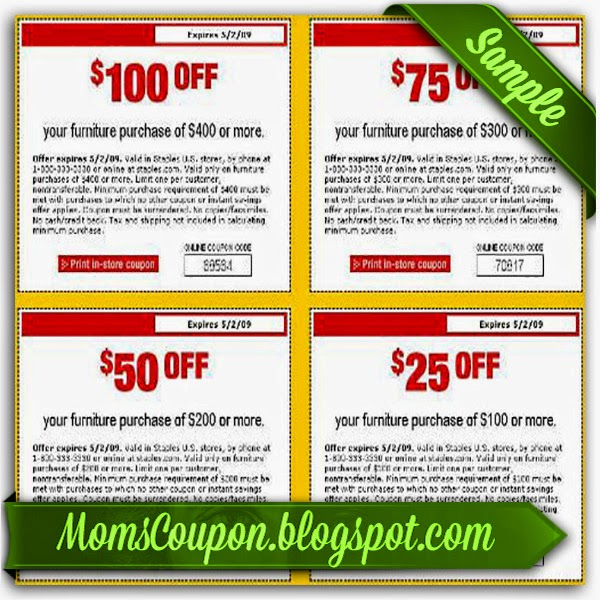 photograph relating to Staple Printable Coupons called Choose added, help save extra with No cost Printable Staples Coupon codes