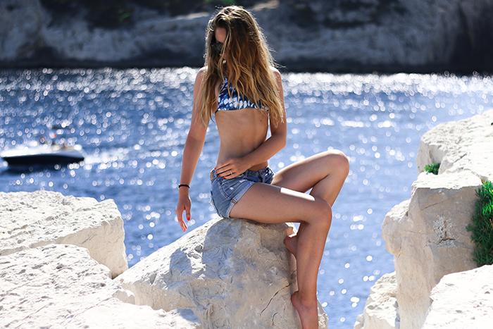 blue bikini san taylor