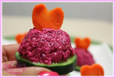 Finger Food com pepino