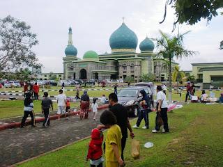 Minggu Pagi di Masjid Agung An-Nur Pekanbaru