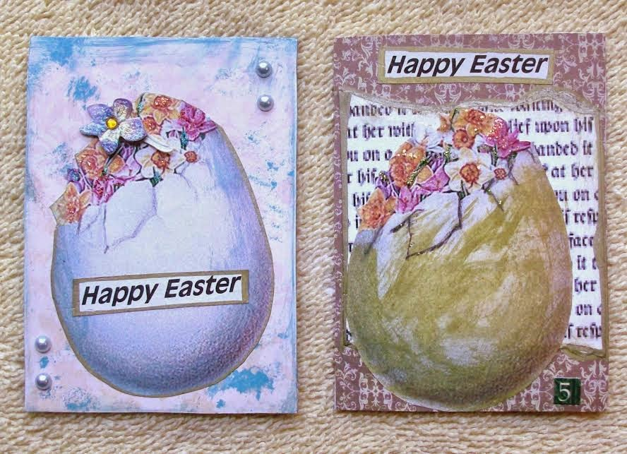 easter atc cards