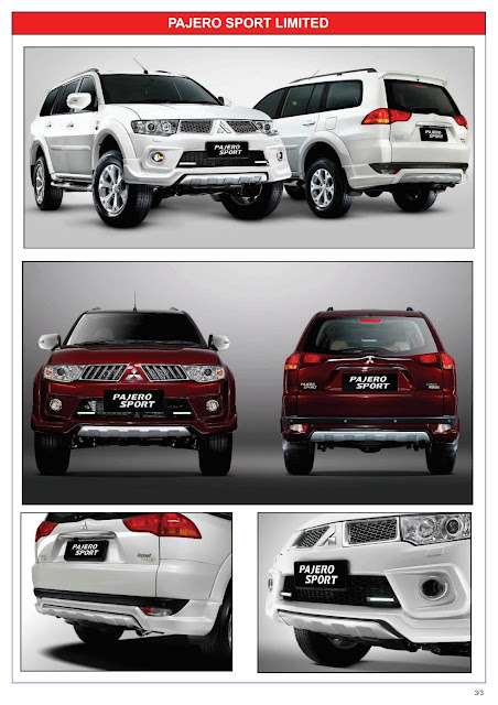 Pajero Sport Limited 2013