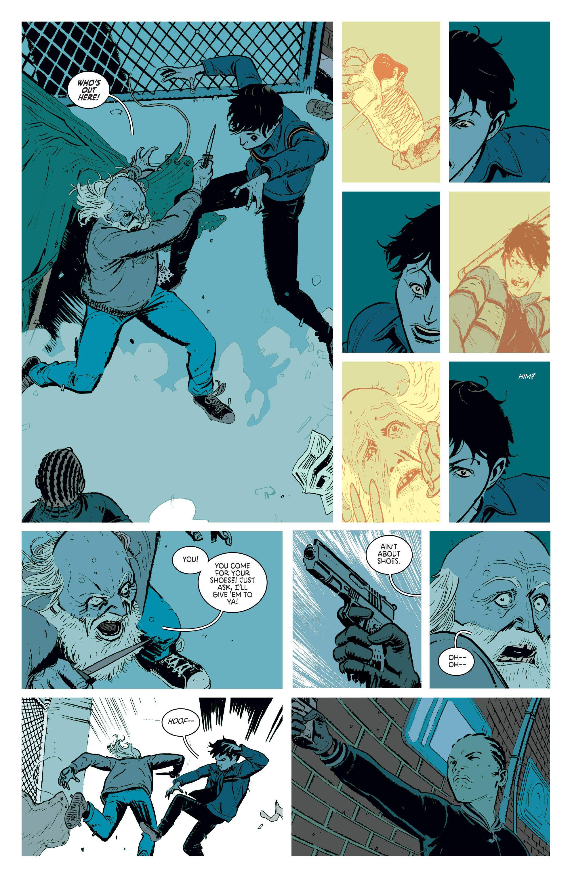 Read online Deadly Class comic -  Issue #3 - 14