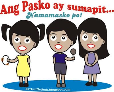 Pinoy Christmas carolers