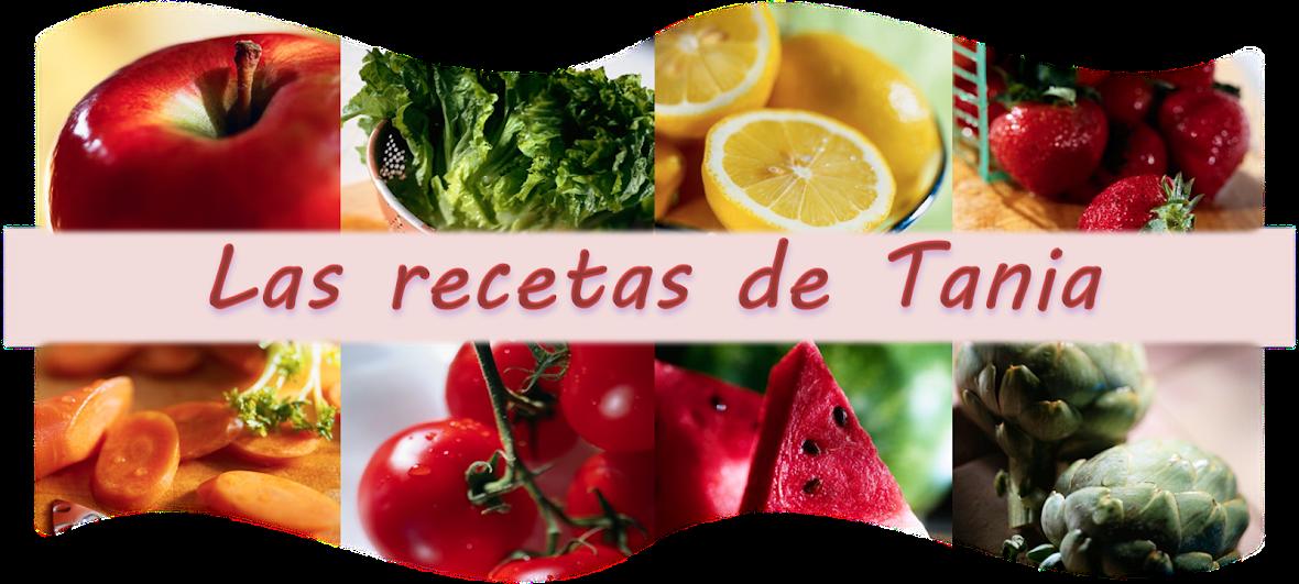 Las recetas de Tania