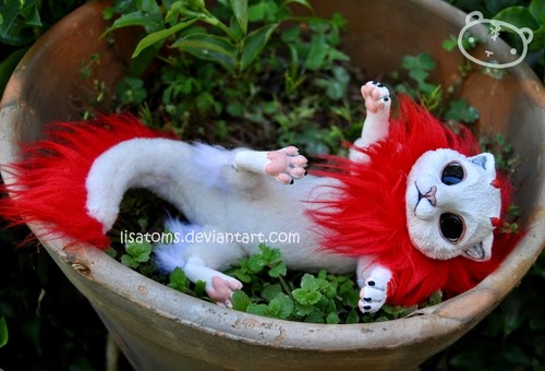 23-Newborn-Dragon-Spirit-Lisa-Toms-Maker-of-Mythical-Creatures-and-Pet-Dolls-www-designstack-co