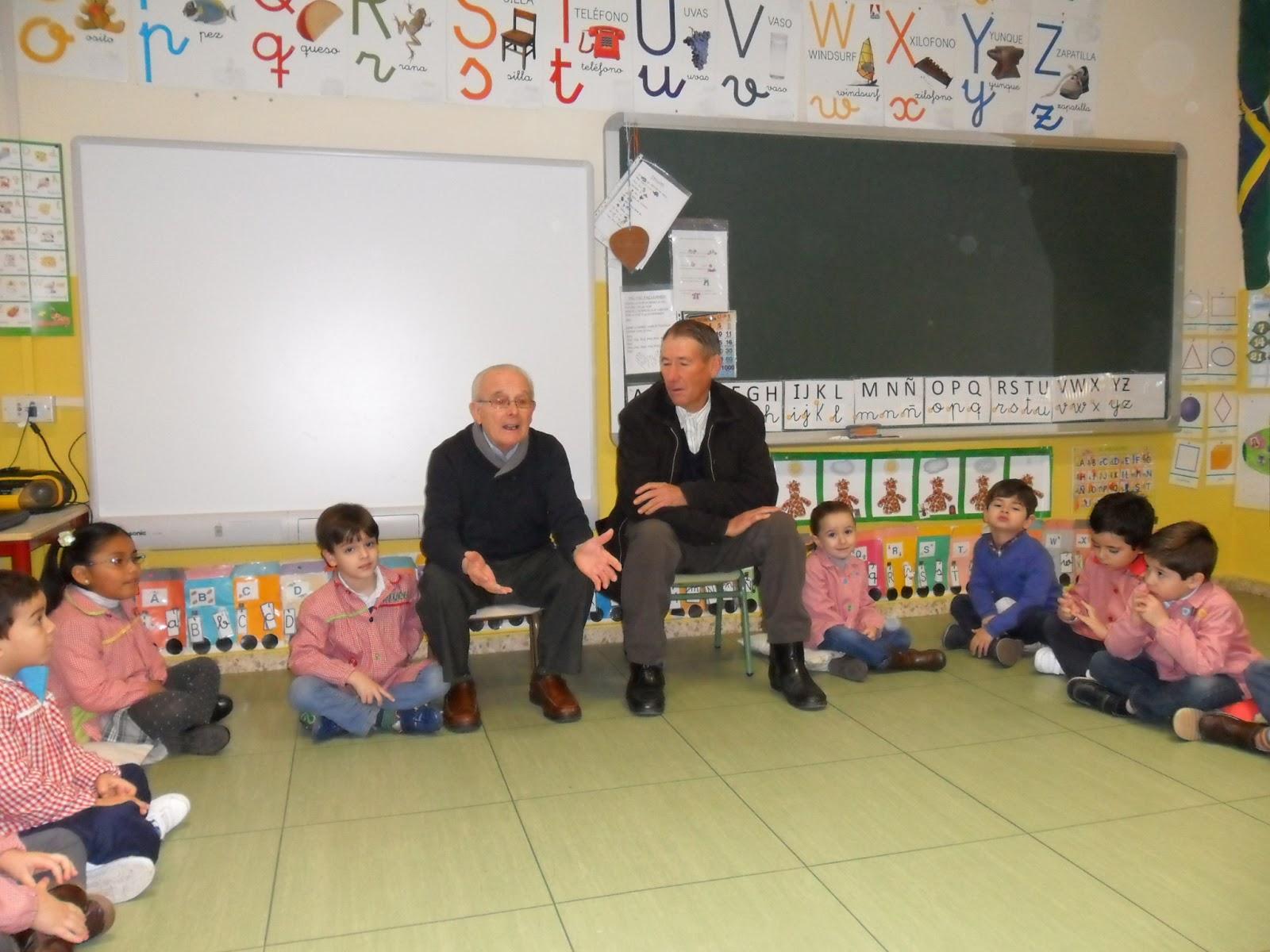 Las cosas de mi maestra los abuelos en nuestra clase for En nuestra clase