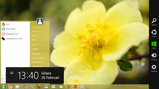 Start Menu di Windows 8