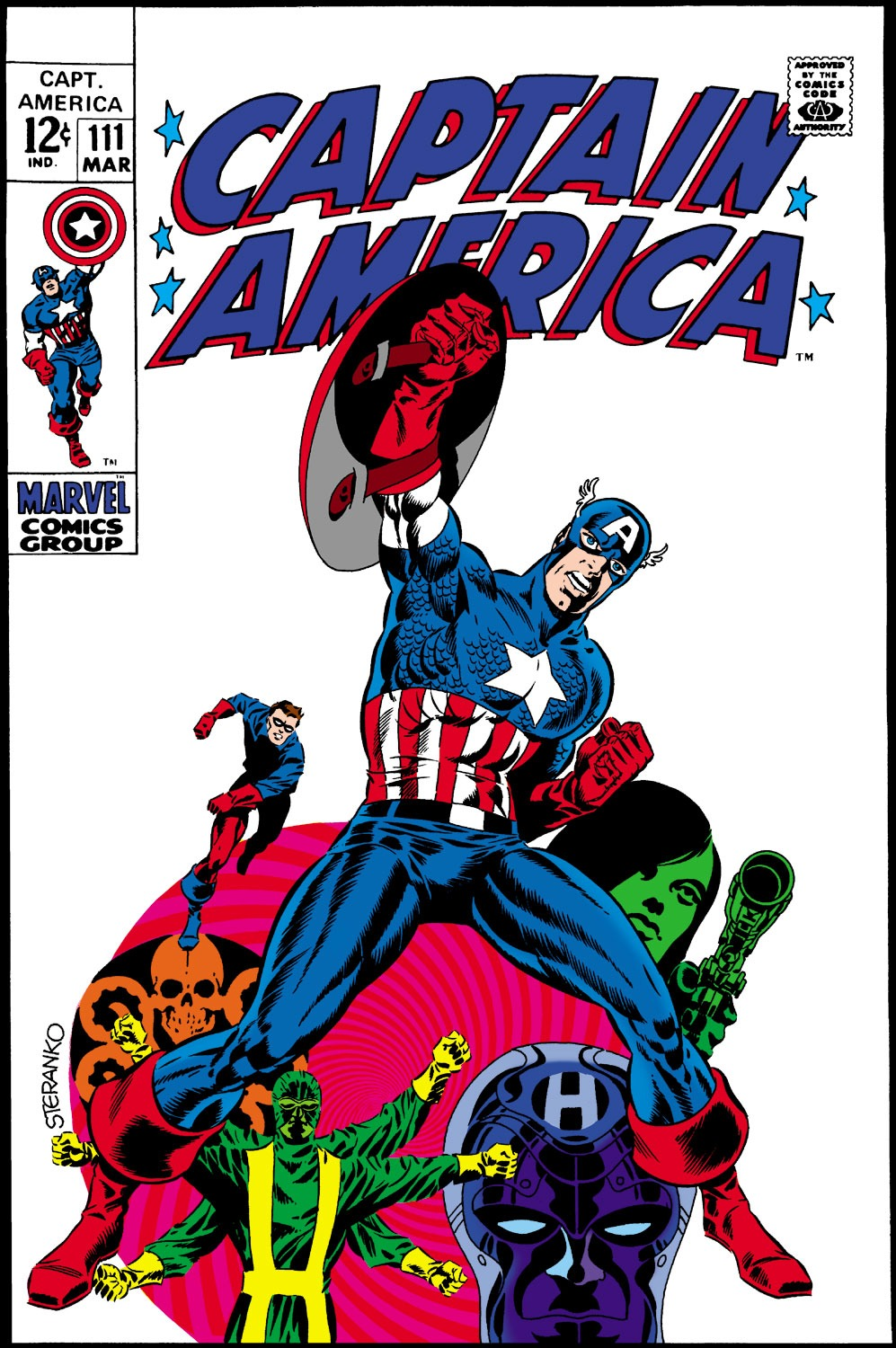 Captain America (1968) Issue #111 #25 - English 1