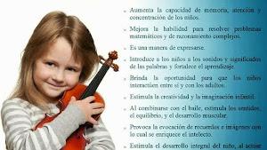 Wert, devuelve la Música a la Educación
