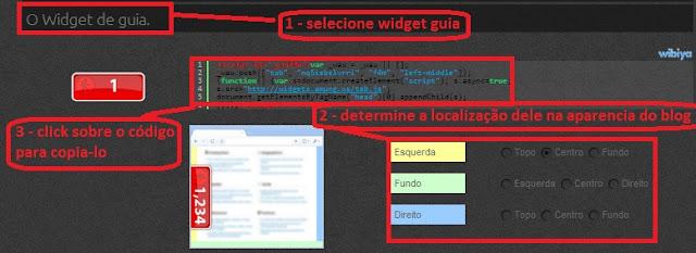 como adicionar gadget contador de visitas em tempo real no blogger