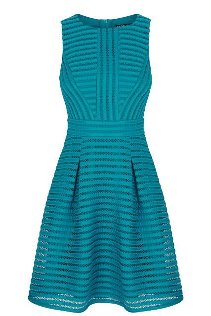warehouse green dress, green mesh dress,