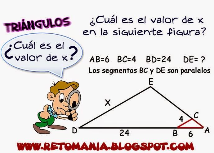 Triángulos, Semejanza, Semejanza de Triángulos