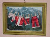 La colada de Papa Noel.